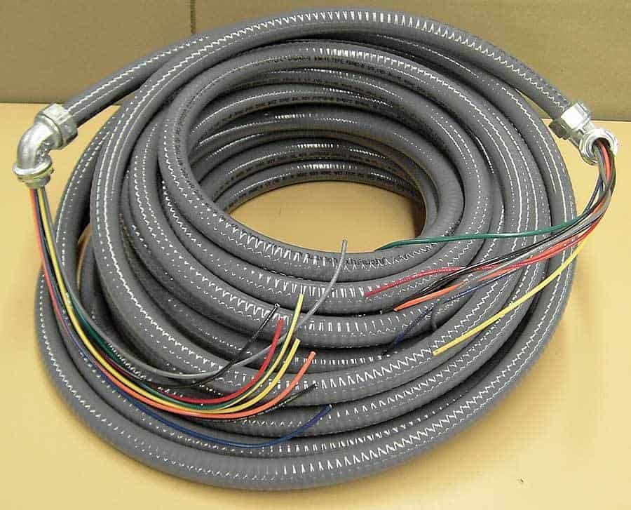 Flexible Conduit Assembly custom wiring harness manufacturing & services la crosse wi Custom Wire Harness Sleeves at eliteediting.co