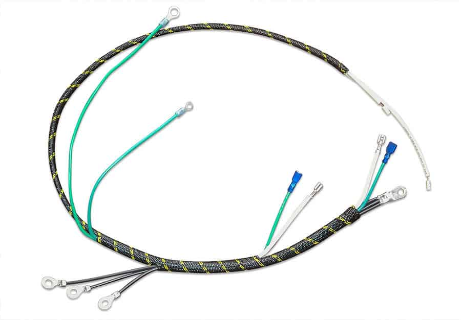 wire harness braiding